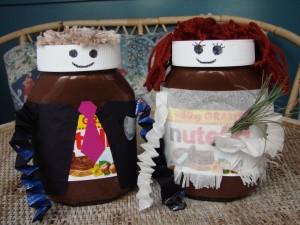 Nutella Hochzeitspaar